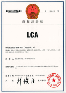 Locksmith Family (LCA) Trademark Registration Certificate Class 6